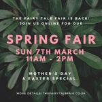 fairy tale fair online spring fair 7th march
