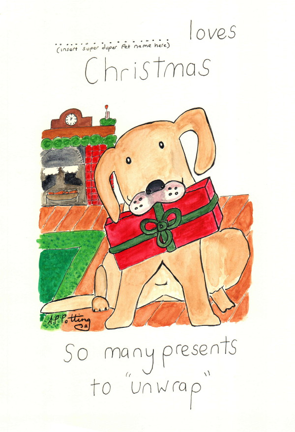dogchristmascard