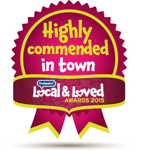 Local and Loved 2015---Highly-Commended-in-Town