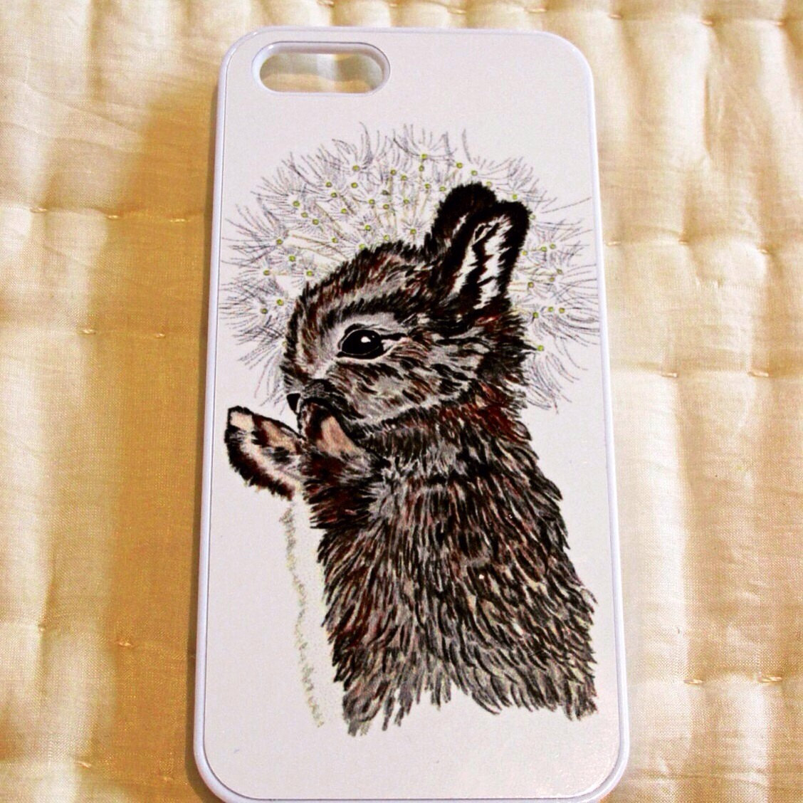 rabbit and dandelion