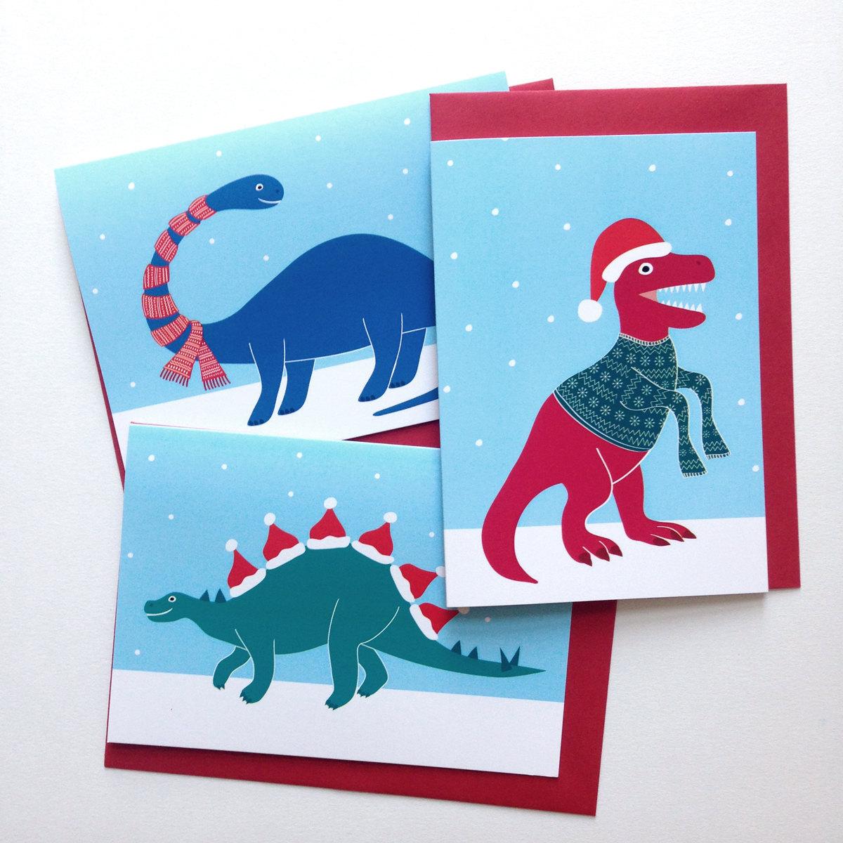 hello_dodo_dinosaur_cards