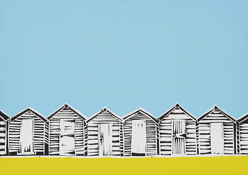 beach huts y