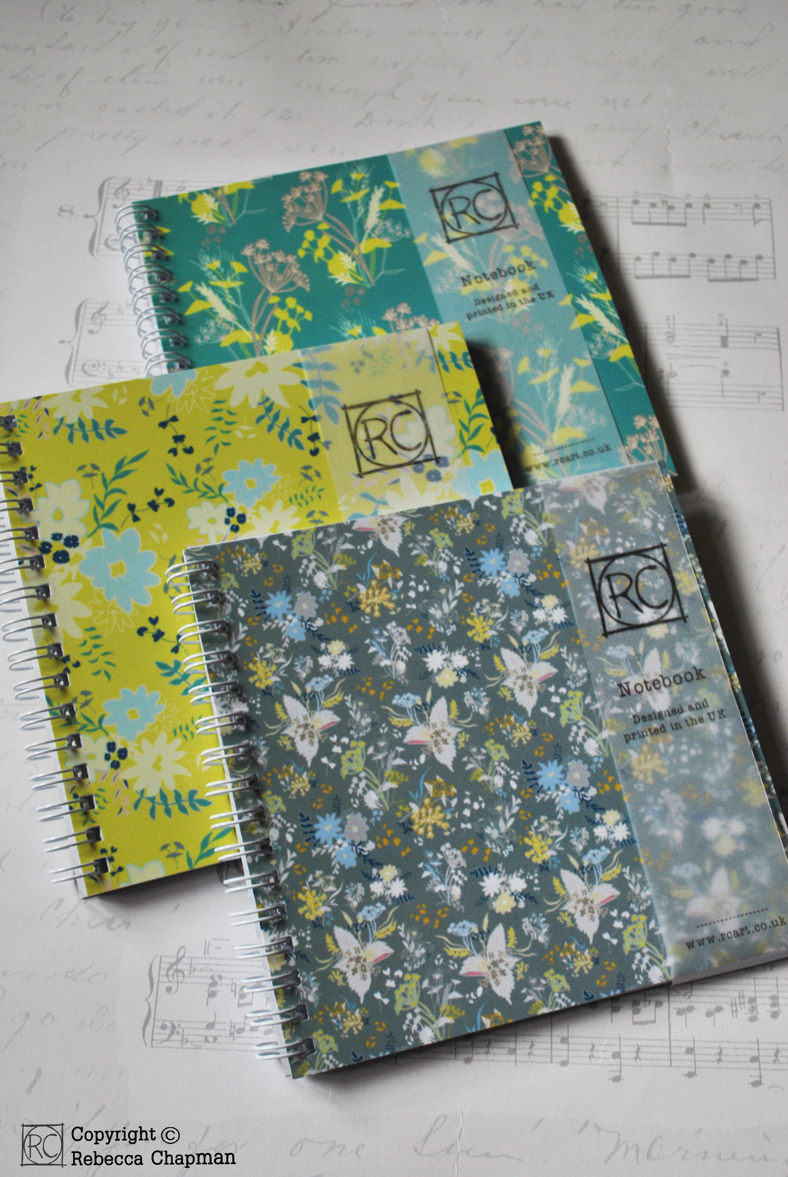 Hedegrow notebooks - Rebecca Chapman