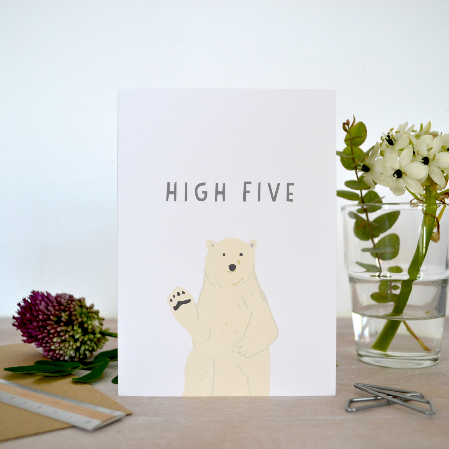 high five card web