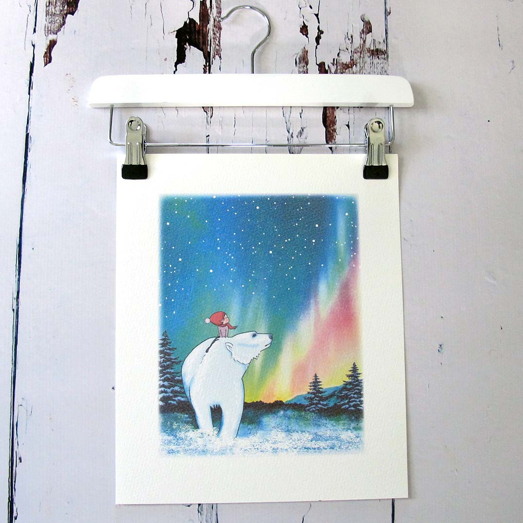 10x 12 northern lights print lores