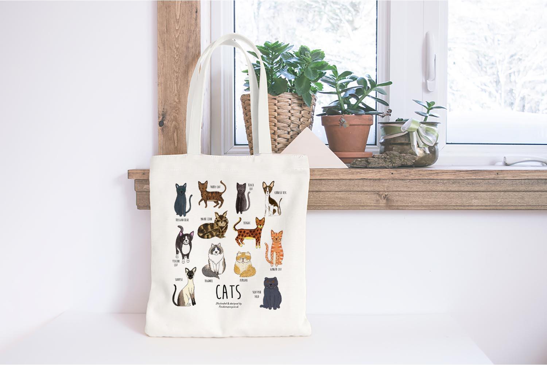 Fond Company cats bag