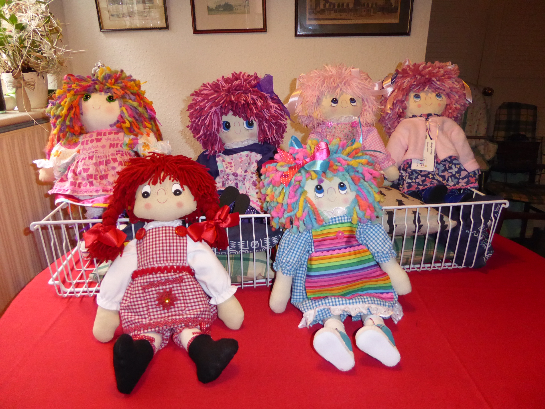 handmade bears and dolls