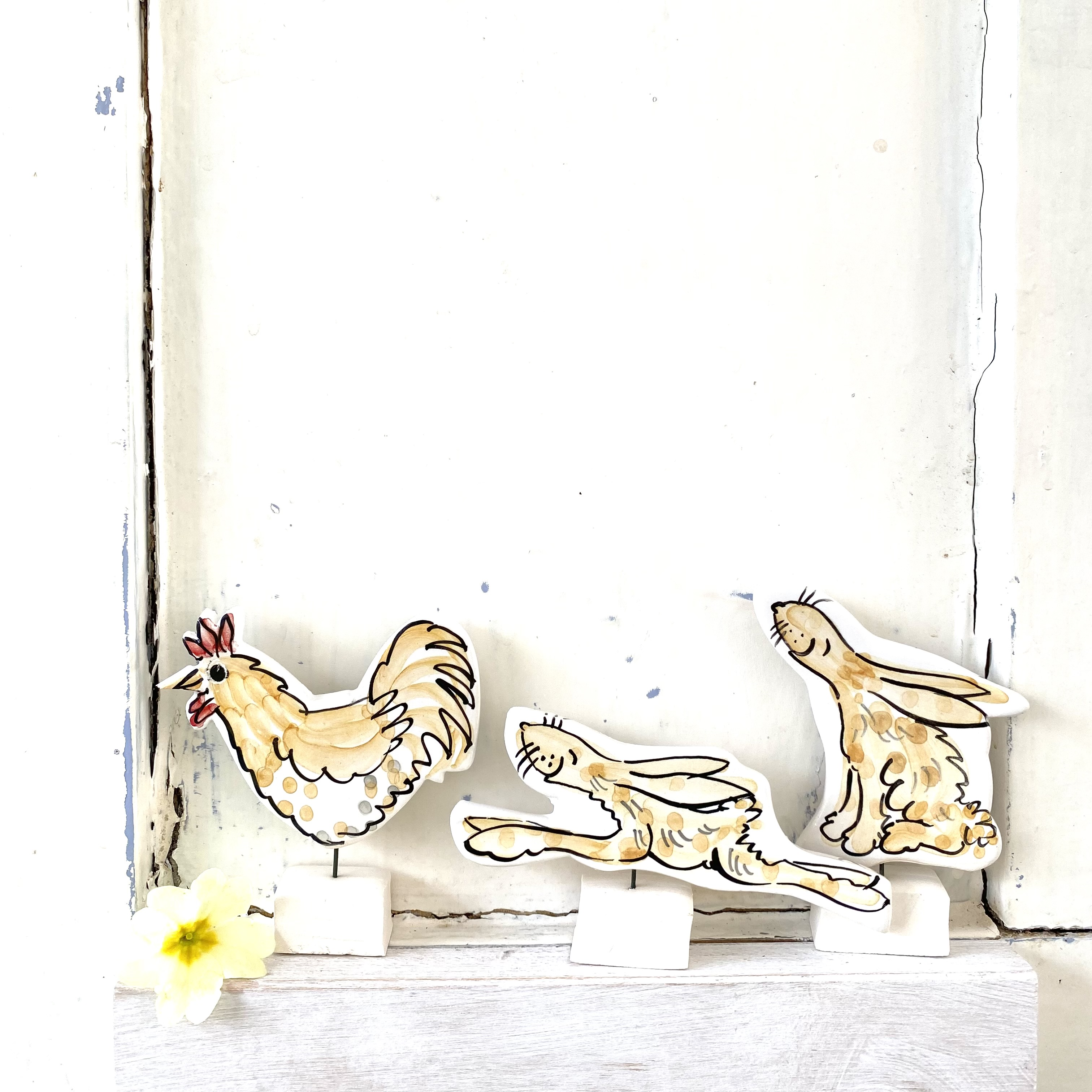 Louise Crookenden-Johnson hares