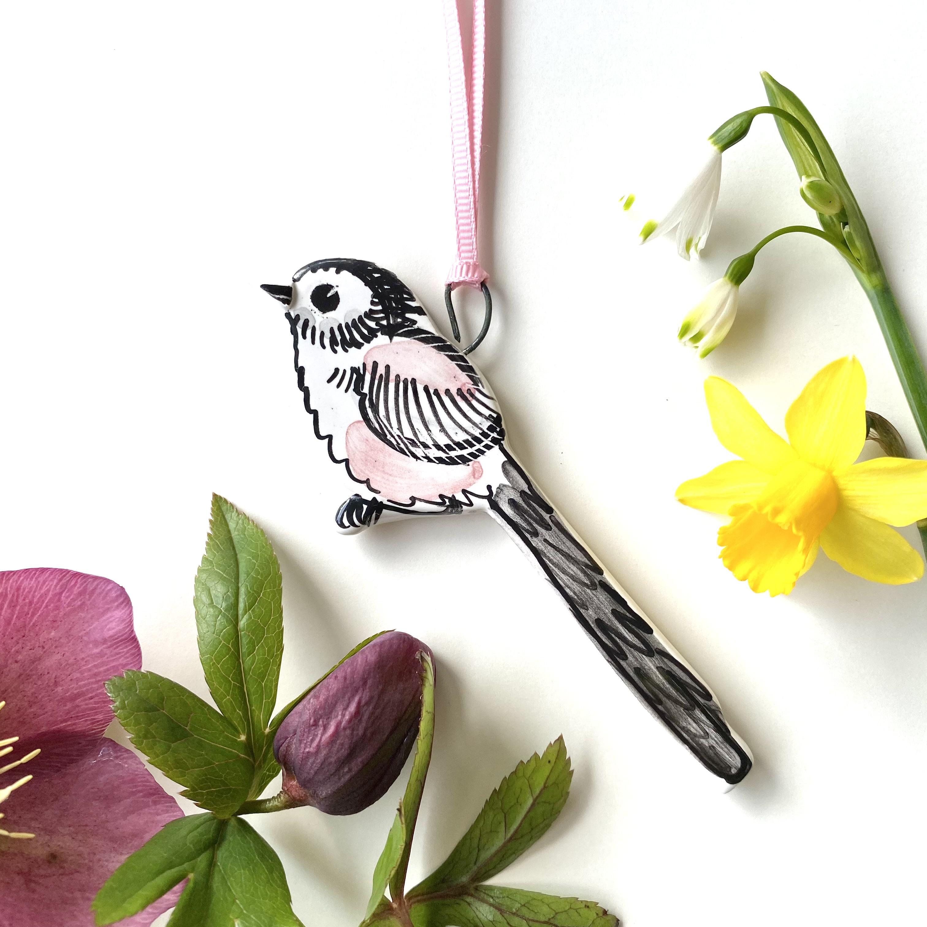 Louise Crookenden-Johnson hanging bird